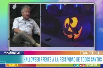 TEMA DEL DÍA: HALLOWEEN VS TODOS SANTOS