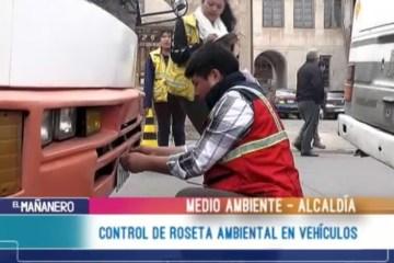 CONTROL DE ROSETAS AMBIENTALES EN VEHÍCULOS