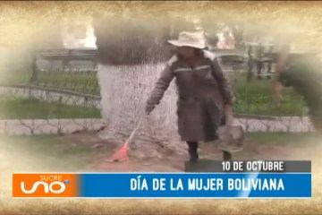 ESPECIAL: DÍA DE LA MUJER BOLIVIANA