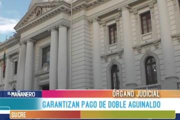 GARANTIZAN PAGO DE DOBLE AGUINALDO