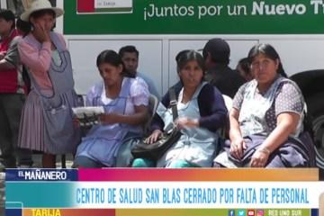 CENTRO DE SALUD DE SAN BLAS CERRADO POR FALTA DE PERSONAL