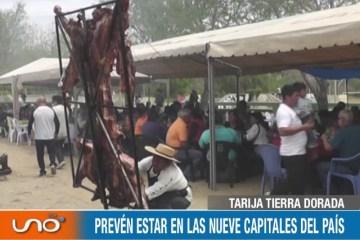 "TARIJA TIERRA DORADA: PRIMER FESTIVAL DE LA ""TAMBERA A LA CRUZ"""