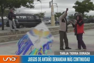JUEGOS DE ANTAÑO DEMANDAN MÁS CONTINUIDAD