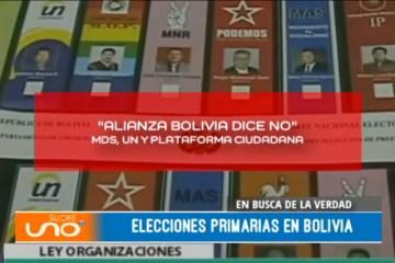 EN BUSCA DE LA VERDAD: ELECCIONES PRIMARIAS EN BOLIVIA