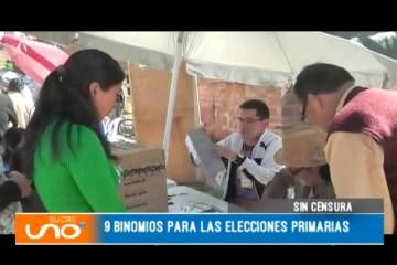 SIN CENSURA: ELECCIONES PRIMARIAS 2019