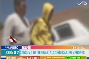 TEMA DEL DÍA: CONSUMO DE ALCOHOL DE MENORES DE EDAD