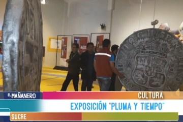 EXPOSICIÓN PLUMA Y TIEMPO