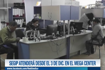 SEGIP ATENDERÁ DESDE EL 3 DE DICIEMBRE EN EL MAGA CENTER