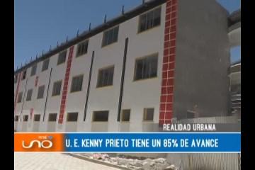 REALIDAD URBANA: U. E. KENNY PRIETO TIENE UN 85% DE AVANCE