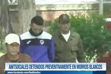 ANTISOCIALES DETENIDOS PREVENTIVAMENTE EN MORROS BLANCOS