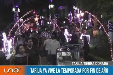 TARIJA TIERRA DORADA: TARIJA YA VIVE LA TEMPORADA DE FIN DE AÑO