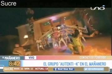 EN EL SET: GRUPO AUTENTI-K  EN EL MAÑANERO