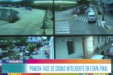 PRIMERA FASE DE CIUDAD INTELIGENTE  EN ETAPA FINAL