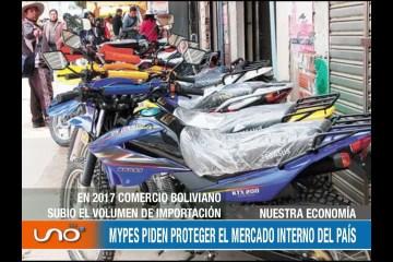 NUESTRA ECONOMÍA: MYPES PIDEN PROTEGER EL MERCADO INTERNO DEL PAÍS