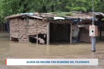 ALERTA EN YACUIBA POR DESBORDE DEL PILCOMAYO