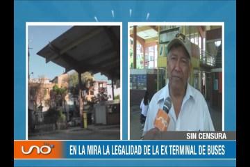 SIN CENSURA: EX TERMINAL CONTINÚA SIN USO DESDE EL 2016