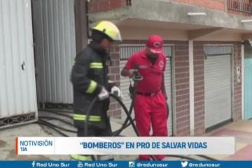 """BOMBEROS"" EN PRO DE SALVAR VIDAS"