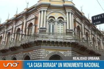 """REALIDAD URBANA: """"LA CASA DORADA"""" UN MONUMENTO NACIONAL"""