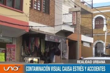 CONTAMINACIÓN VISUAL CAUSA ESTRÉS Y ACCIDENTES