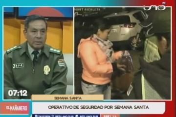OPERATIVO DE SEGURIDAD POR SEMANA SANTA