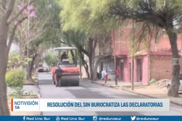 RESOLUCIÓN DEL SIN BUROCRATIZA LAS DECLARATORIAS