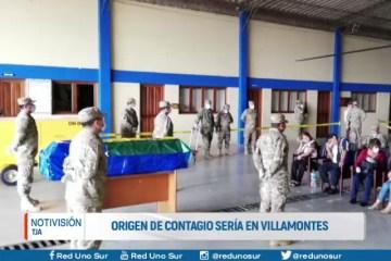 ORIGEN DE CONTAGIO SERÍA VILLAMONTES