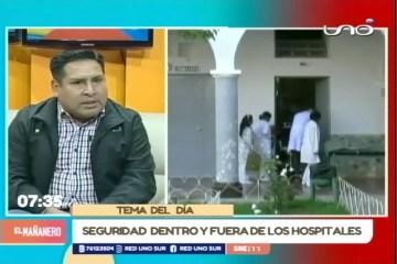 TEMA DEL DÍA: SEGURIDAD DENTRO Y FUERA DE LOS HOSPITALES