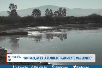 """""""NO TRABAJAN EN LA PLANTA DE TRATAMIENTO MÁS GRANDE"""""""