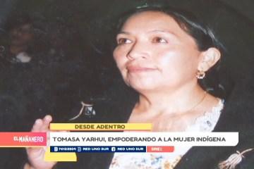 DESDE ADENTRO: TOMASA YARHUI, ABOGADA Y POLÍTICA BOLIVIANA.
