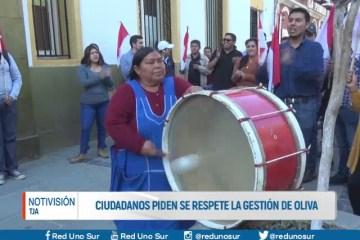 CIUDADANOS PIDEN SE RESPETE LA GESTIÓN DE OLIVA