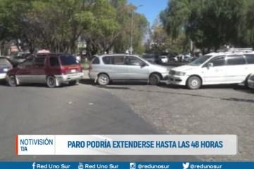 PARO DEL TRANSPORTE PODRÍA EXTENDERSE HASTA LAS 48 HORAS