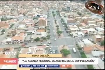 TEMA DEL DÍA: AGENDA REGIONAL DEPARTAMENTAL