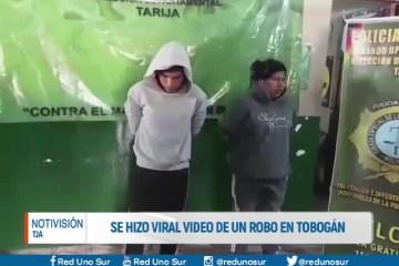 SE HIZO VIRAL VIDEO DE UN ROBO AGRAVADO EN TOBOGÁN
