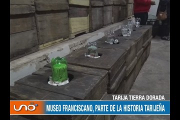 TARIJA TIERRA DORADA: MUSEO FRANCISCANO