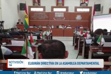 ELIGIERAN DIRECTIVA EN LA ASAMBLEA DEPARTAMENTAL