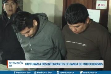 CAPTURAN A DOS INTEGRANTES DE BANDA DE MOTOCHORROS