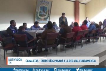 CANALETAS-ENTRE RÍOS PASARÁ A LA RED VIAL FUNDAMENTAL