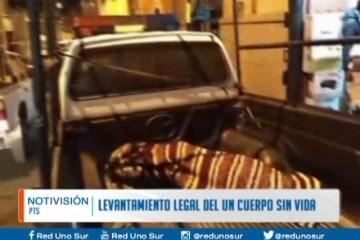 LEVANTAMIENTO LEGAL DE UN CADÁVER