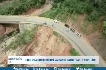 GOBERNACIÓN CERRARÁ VARIANTE CANALETAS-ENTRE RÍOS