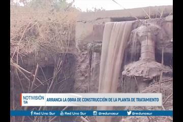 ARRANCA LA OBRA DE CONSTRUCCIÓN DE LA PLANTA DE TRATAMIENTO