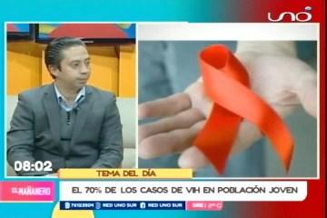 TEMA DEL DÍA: CASOS DE VIH-SIDA EN JÓVENES