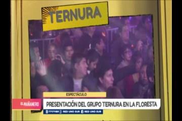 ESPECTÁCULO: GRUPO TERNURA EN VIVO