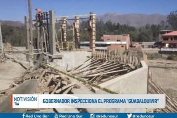 """GOBERNADOR INSPECCIONA EL PROGRAMA """"GUADALQUIVIR"""""""