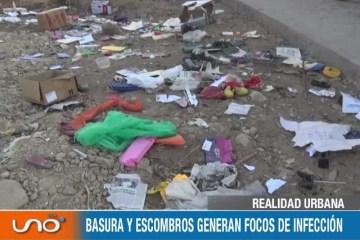 REALIDAD URBANA: QUEBRADA EL MONTE, EL NUEVO BOTADERO ILEGAL