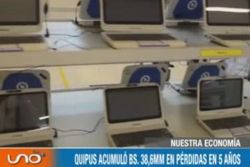 NUESTRA ECONOMÍA: PRODUCCIÓN DE QUIPUS SE DEVALÚA RÁPIDAMENTE