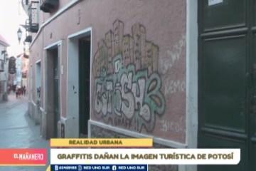 REALIDAD URBANA: GRAFFITIS EN LAS PAREDES