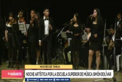 NOCHES DE TARIJA: EDUCACIÓN MUSICAL
