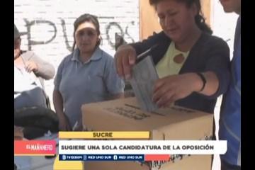EL MAS ESPERA SUMAR MÁS VOTOS EN CHUQUISACA