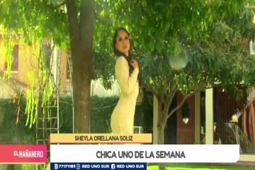 CHICA UNO TARIJA: SHEYLA ORELLANA