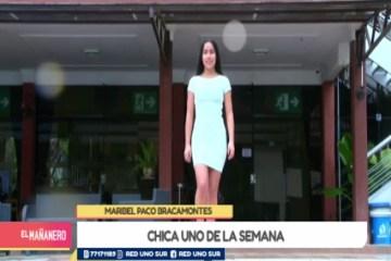 CHICA UNO TARIJA: MARIBEL PACO BRACAMONTES